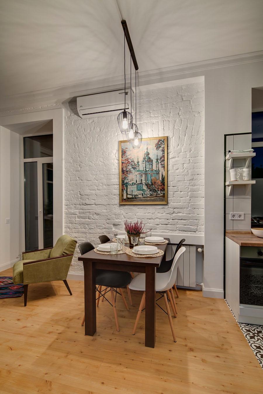 столовая в квартире