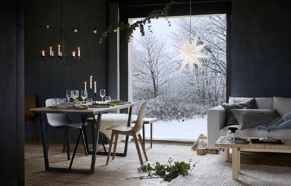 Ikea + Hm Home: 45 фото зимней красоты