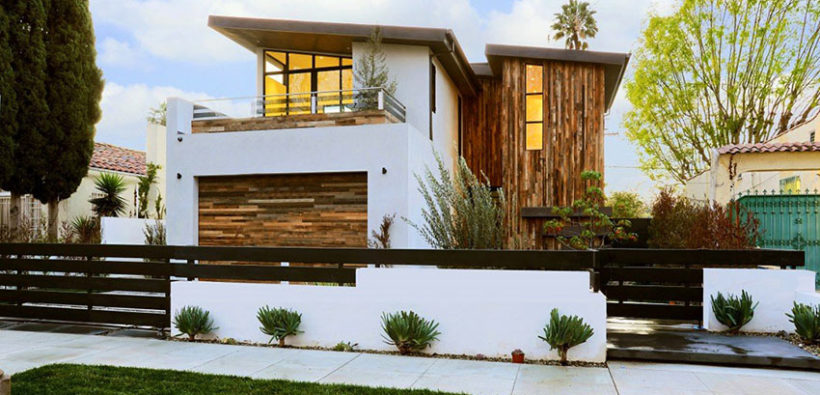 Проект недели: большой дом в стиле минимализм