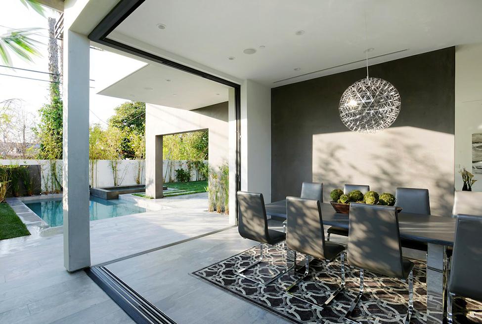 дом в стиле минимализм проект