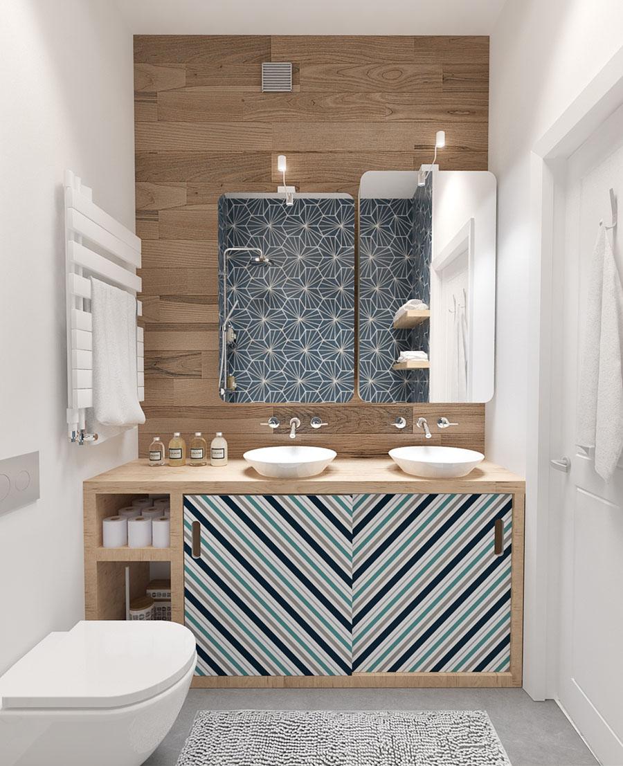как скомбинировать плитку в маленькой ванной
