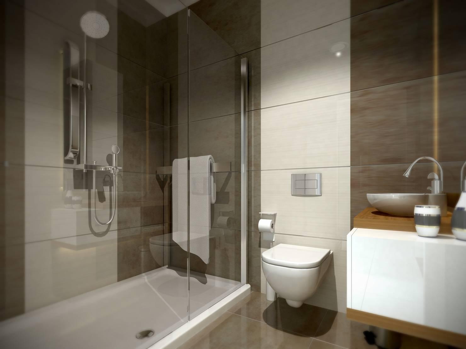 большая плитка для ванной
