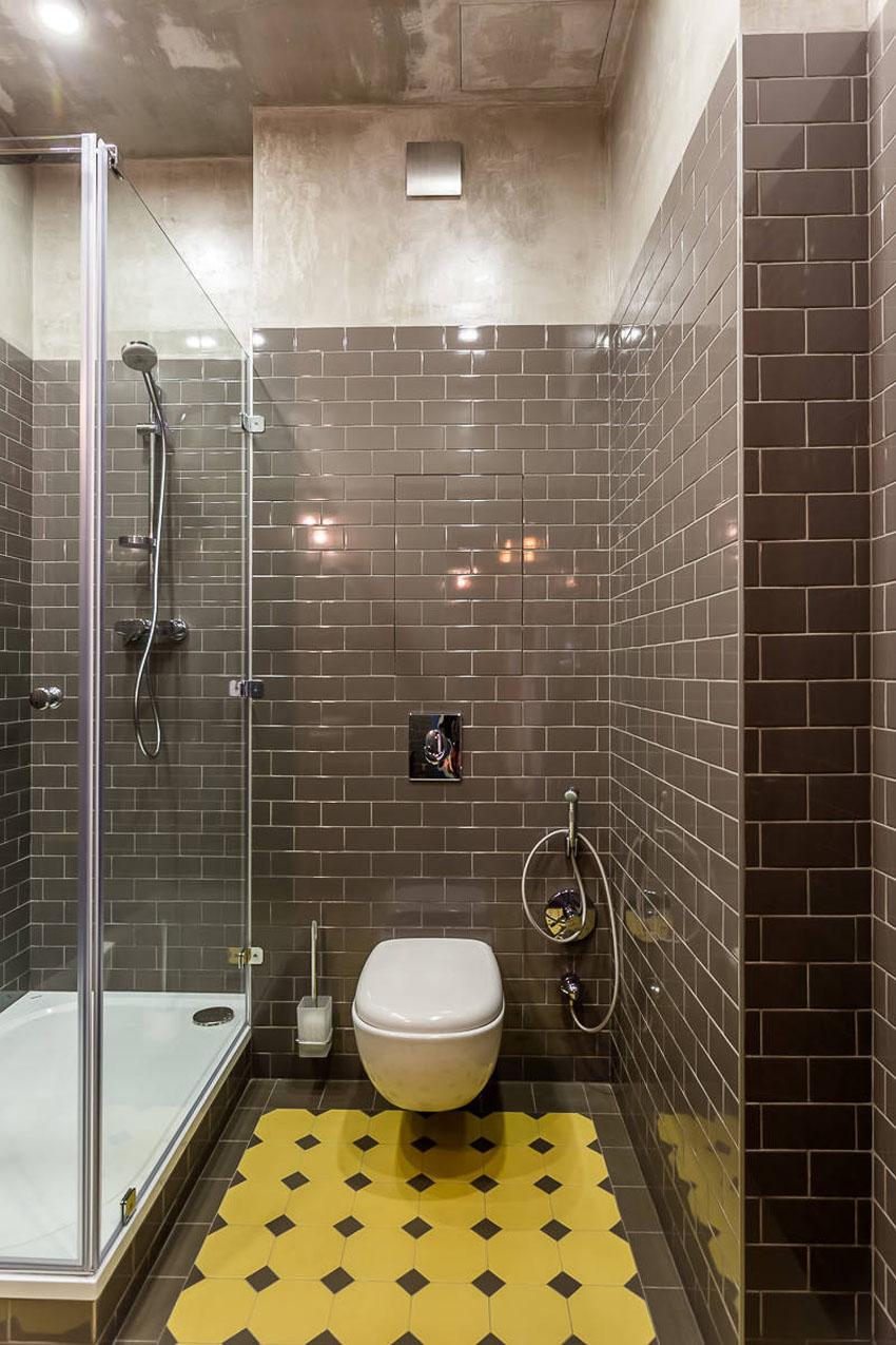 дизайн плитки в ванной и туалете