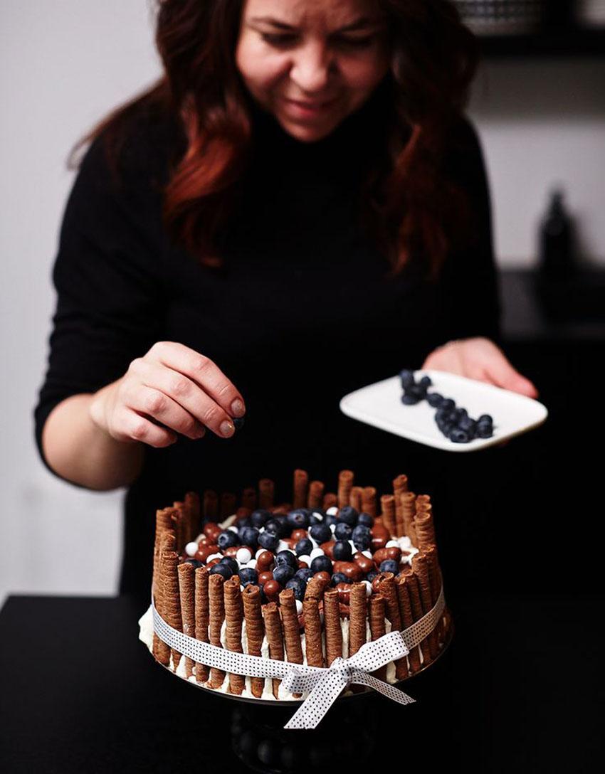 красивый декор торта