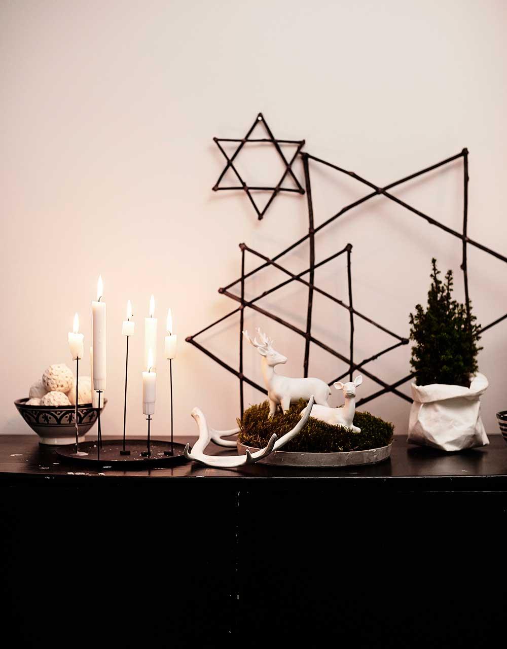 идеи для украшения дома на новый год