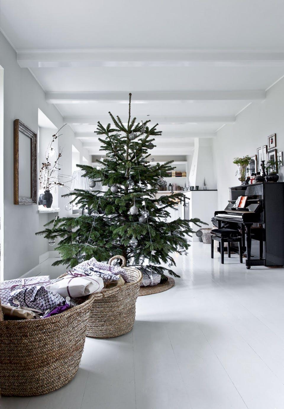 как украсить елку в европейском стиле