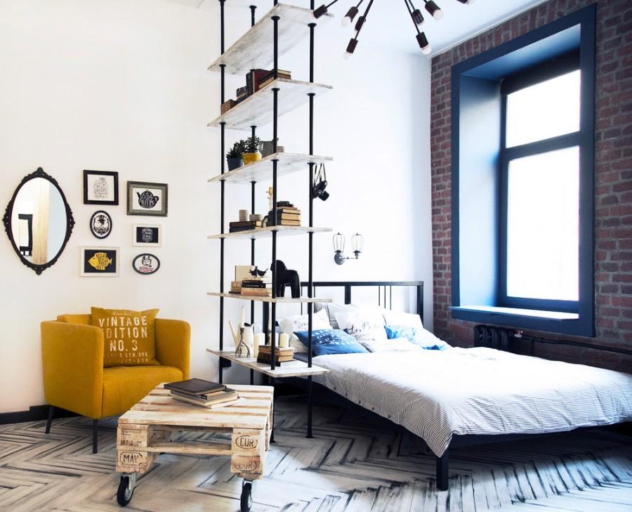 спальня гостиная фото