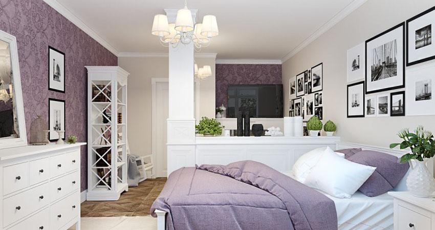 дизайн спальни гостиной 15 кв м