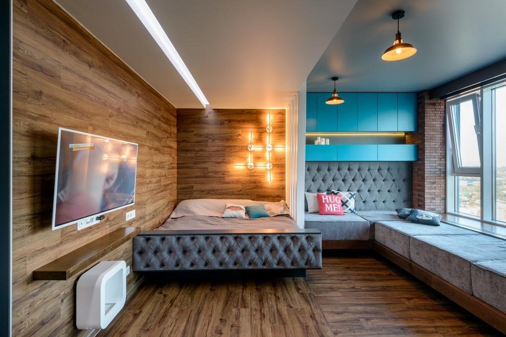 гостиная спальня 20 кв м