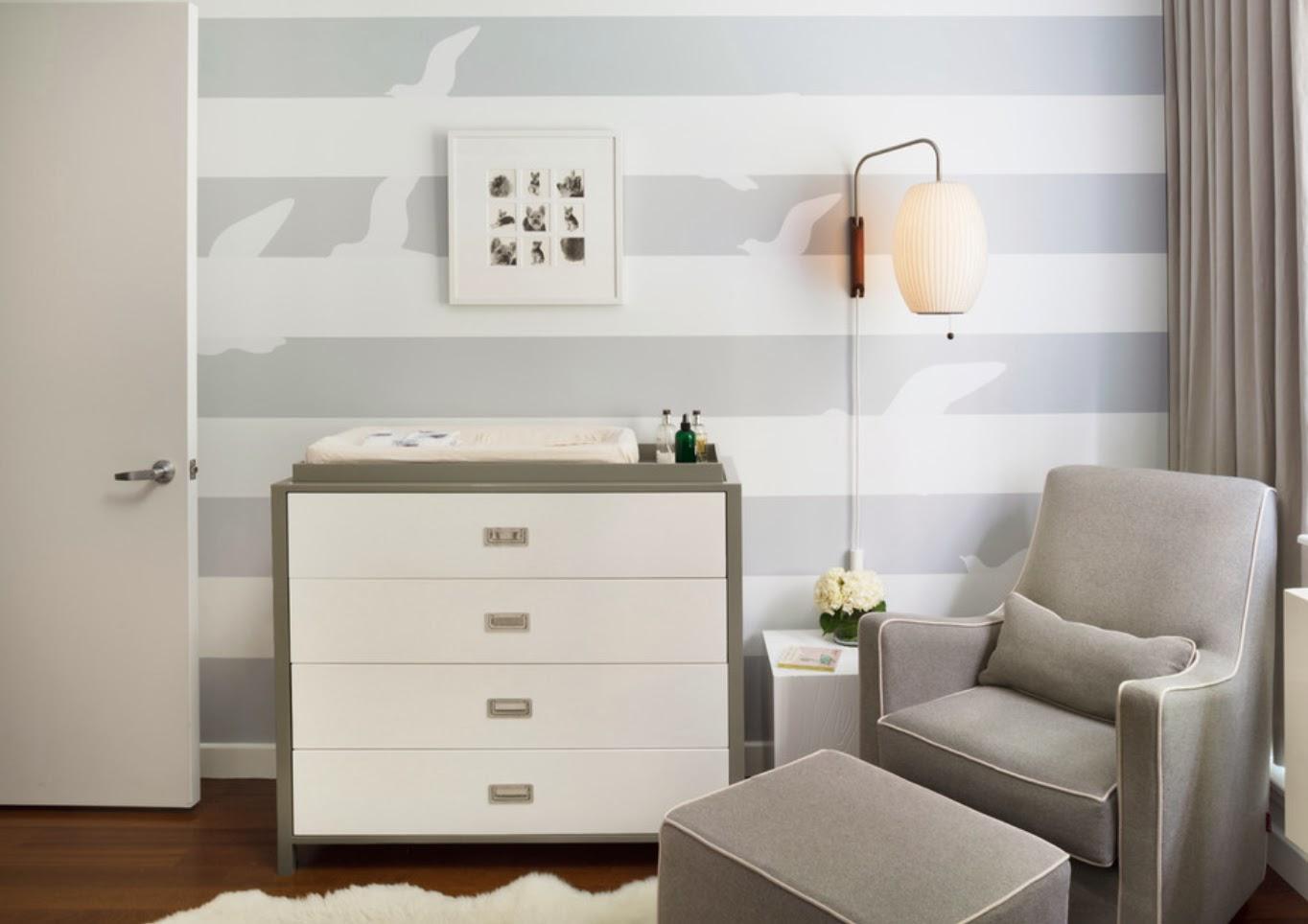 дизайн комнаты новорожденной
