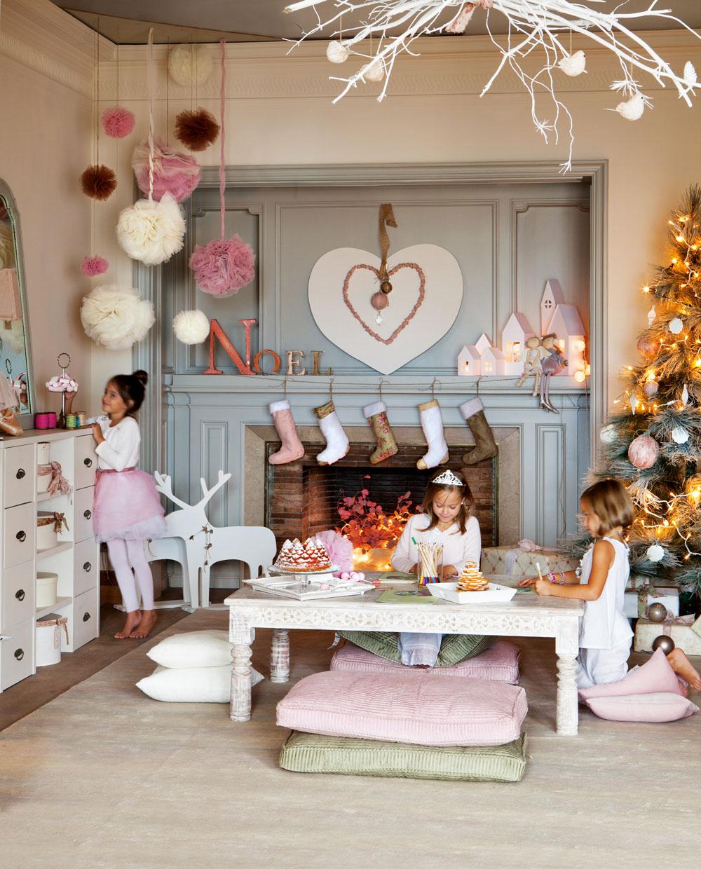 новогоднее оформление дома своими руками