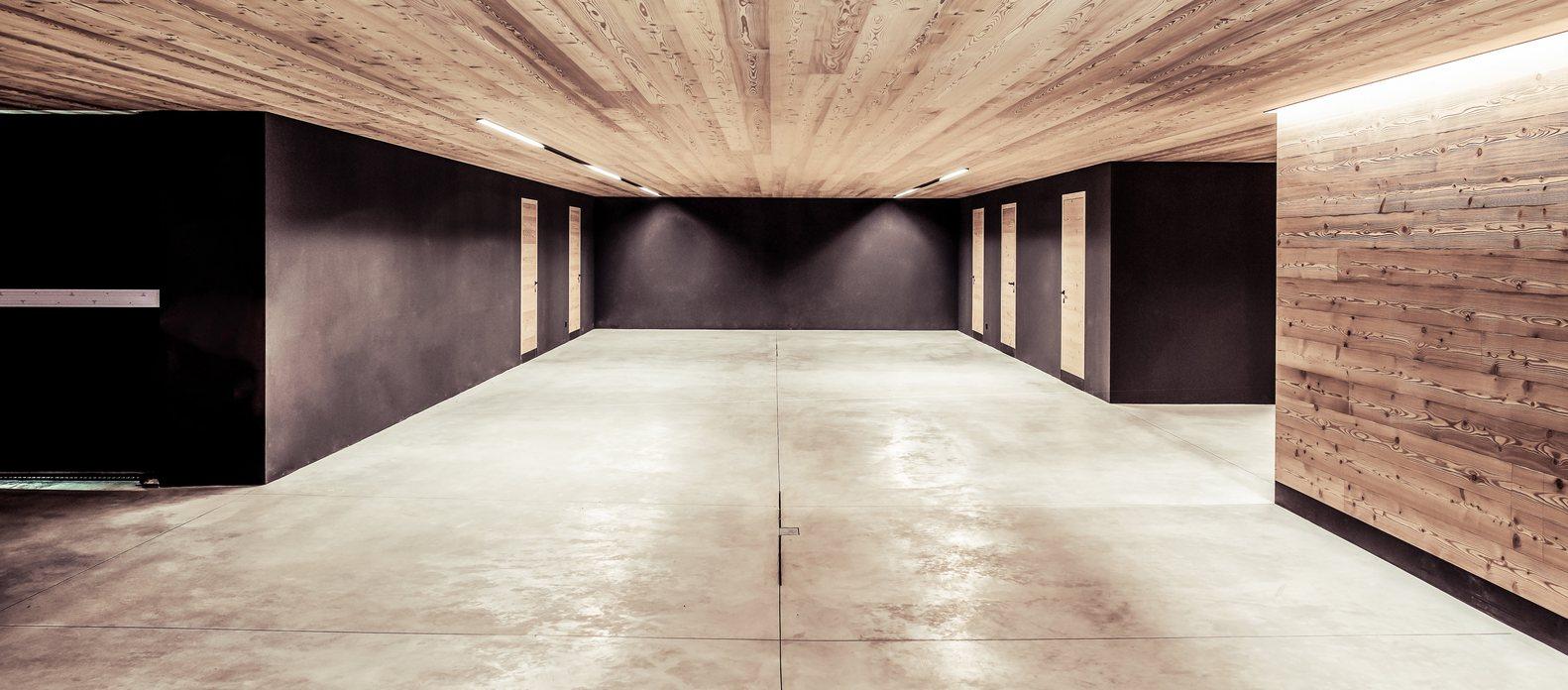 подземный гараж в частном доме