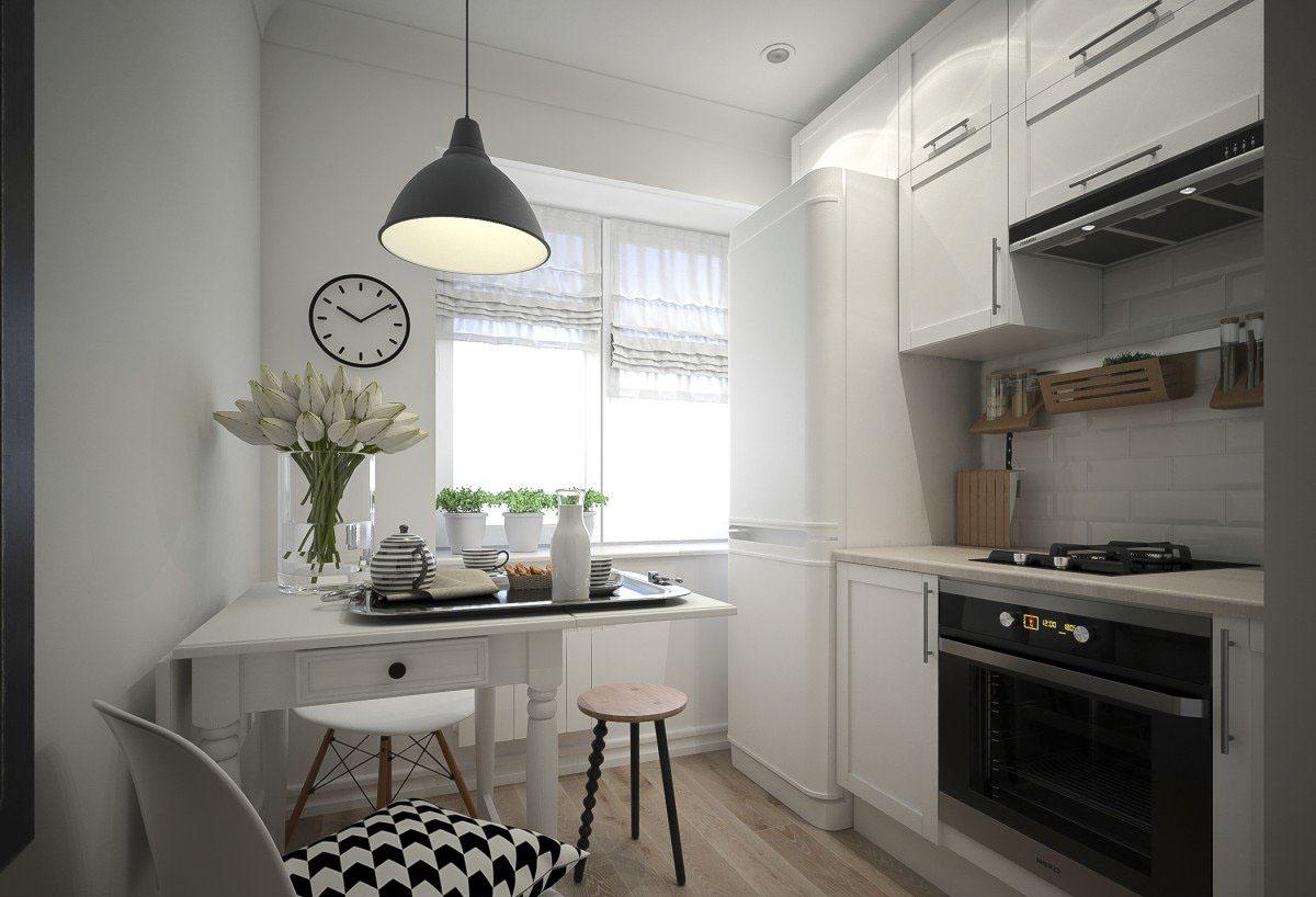 кухня 6 кв м