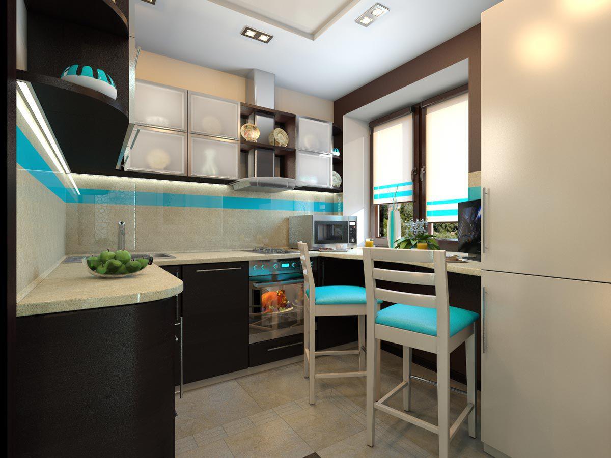 дизайн кухни хрущевки