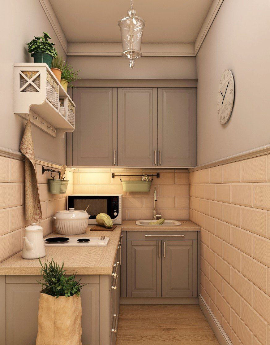 маленькие угловые кухни для хрущевок