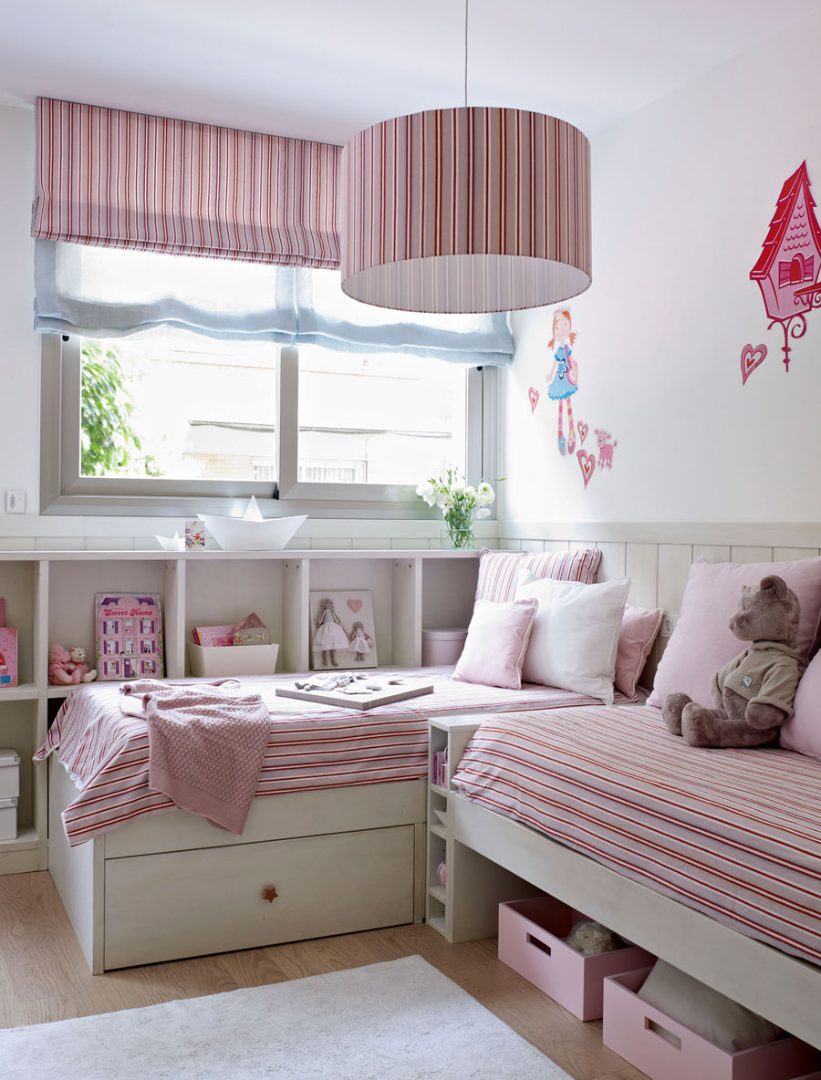 детская комната для двоих девочек