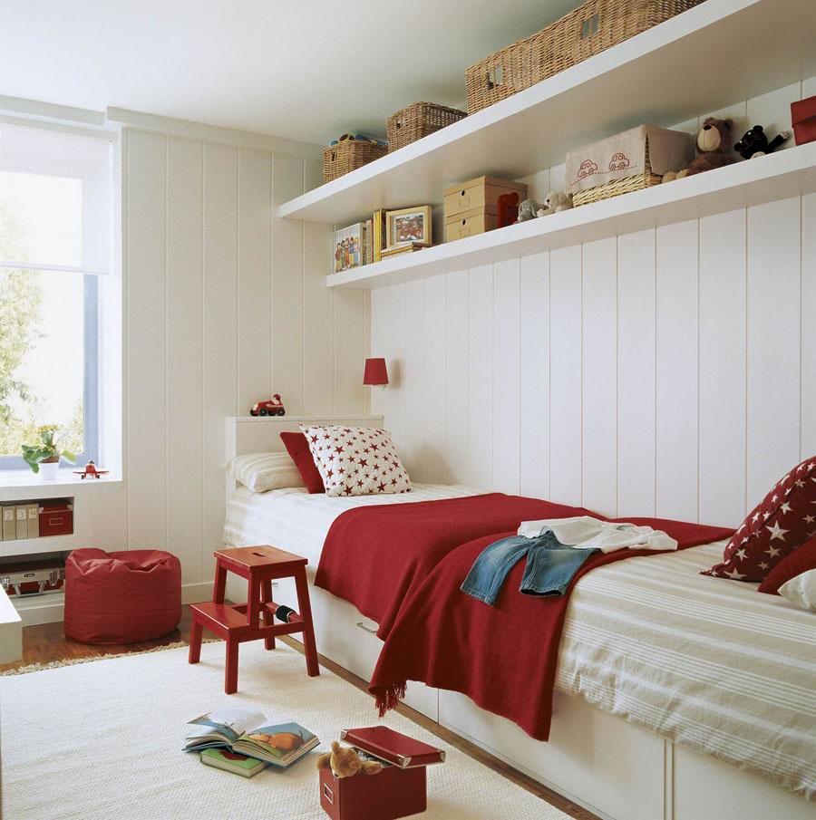 детские комнаты для двоих