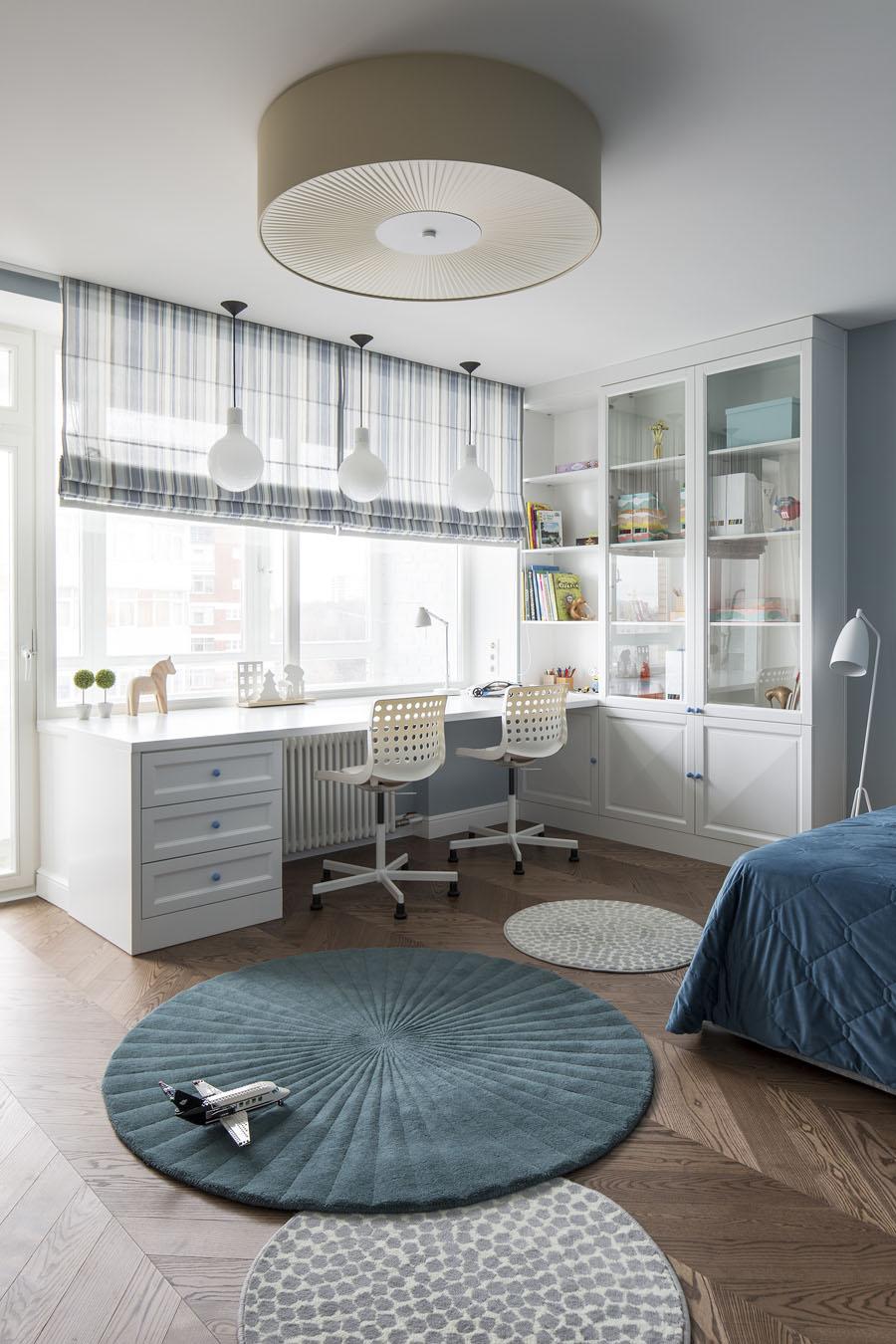 подростковая мебель для двоих детей