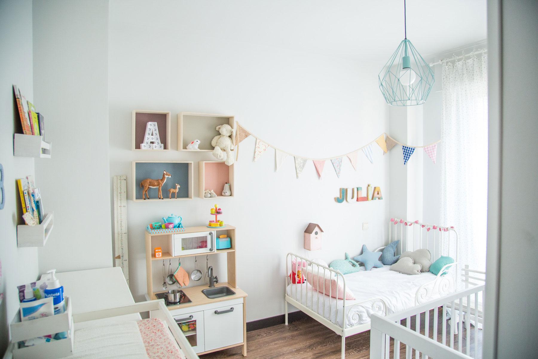 интерьер детской комнаты для двоих детей фото