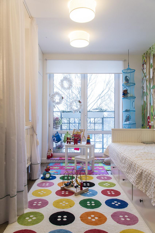 Детская комната для двоих детей разного возраста