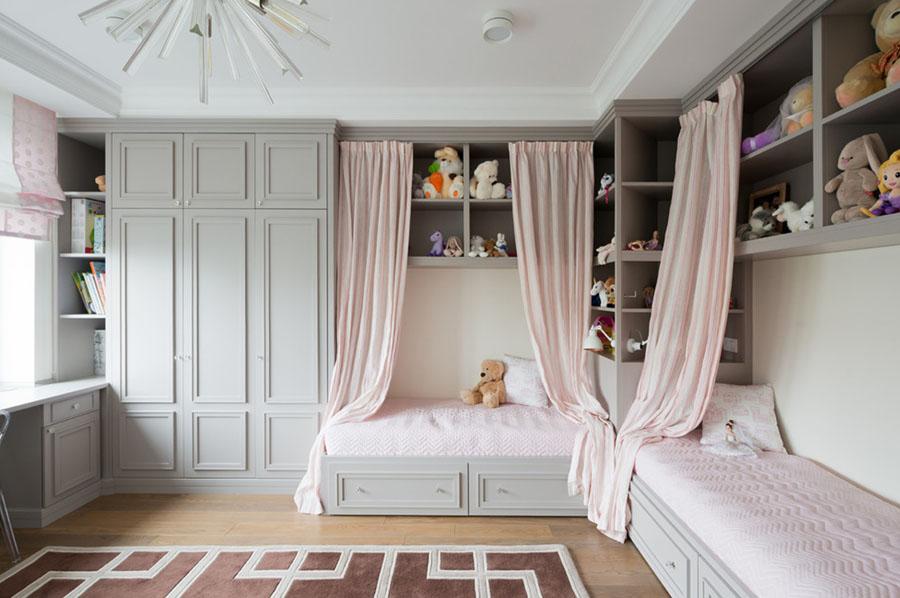 дизайн детской комнаты 12 кв м для двоих детей 50 свежих идей