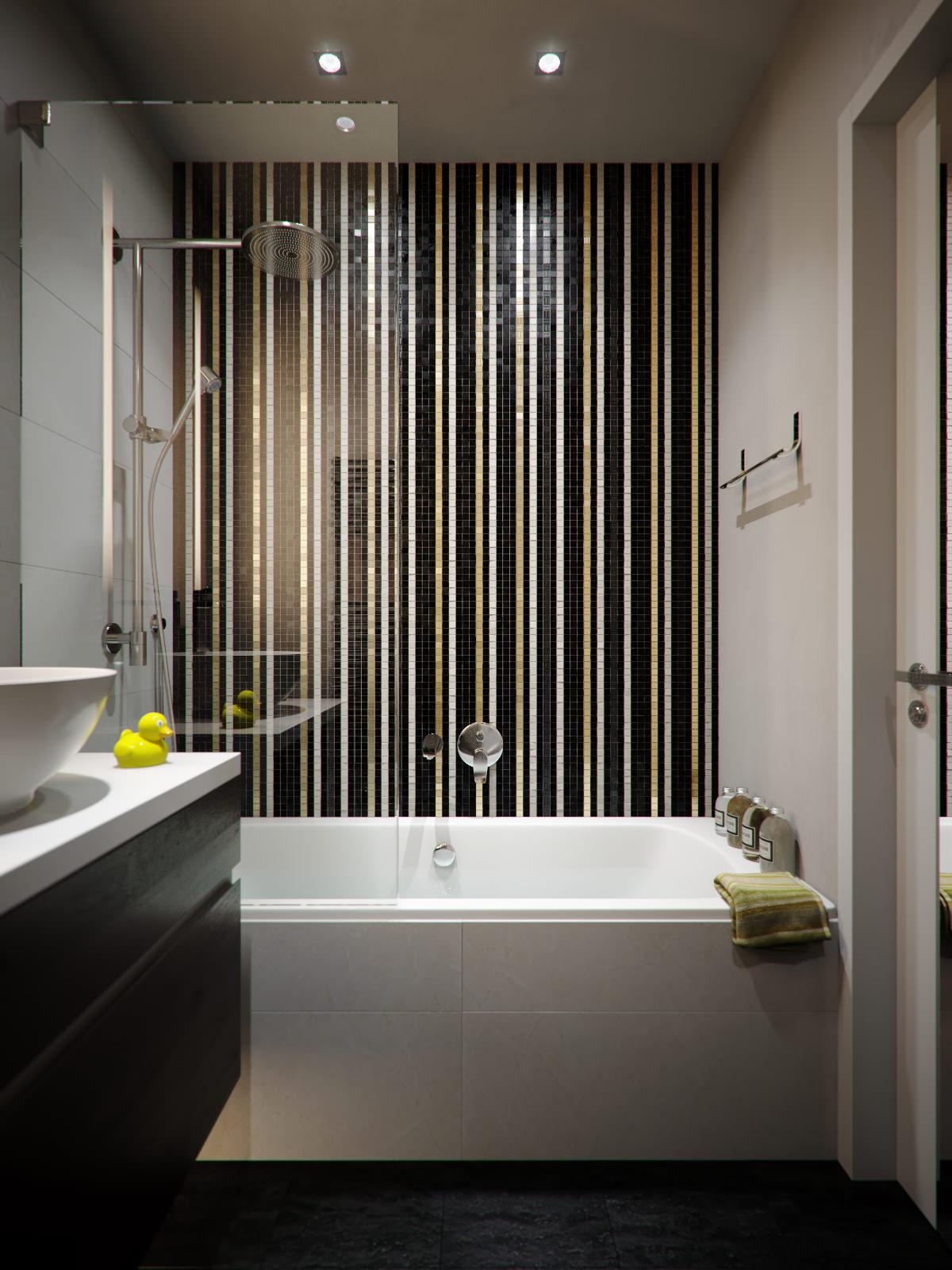 дизайн ванной комнаты 4 кв