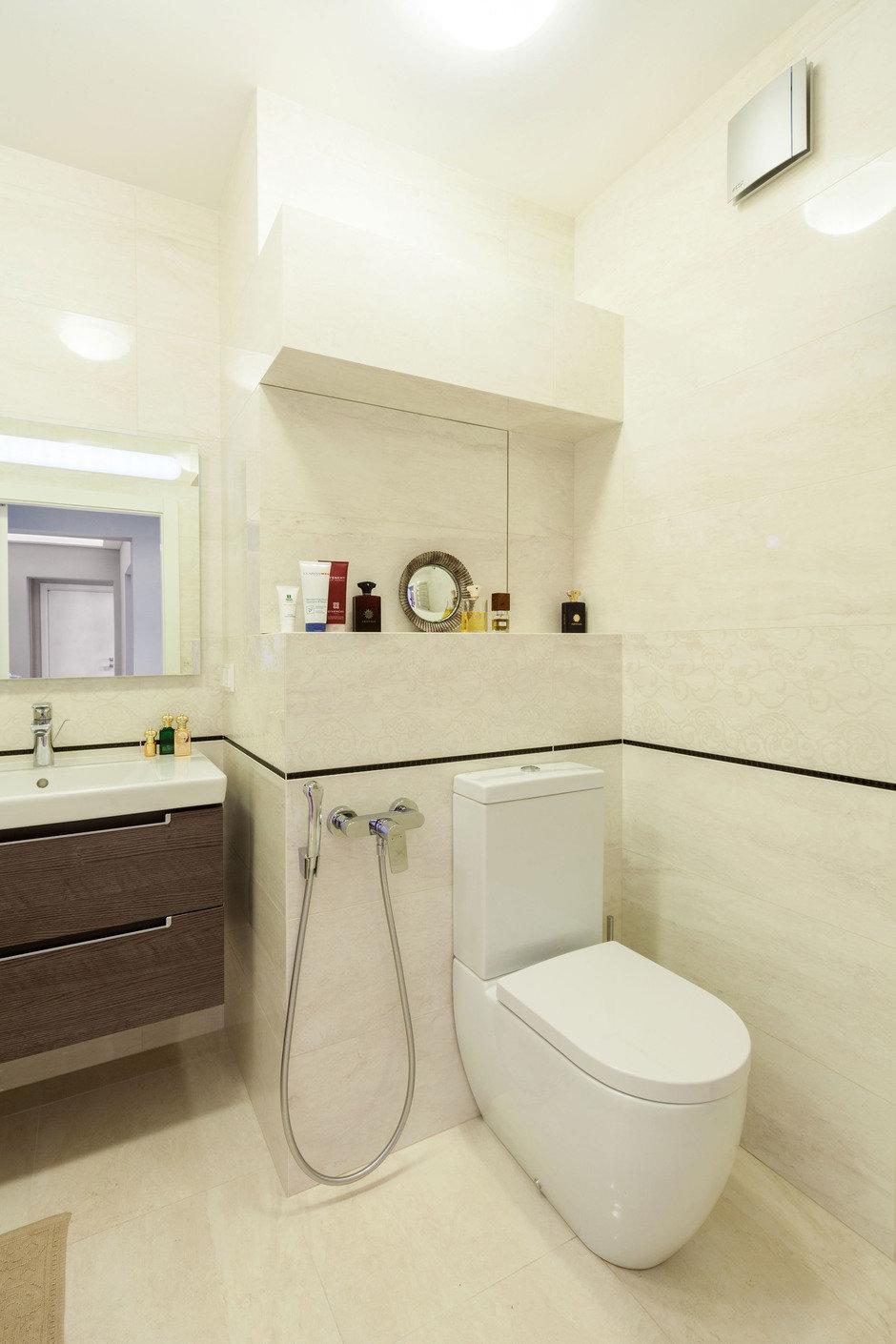 ванная 4 квадрата дизайн