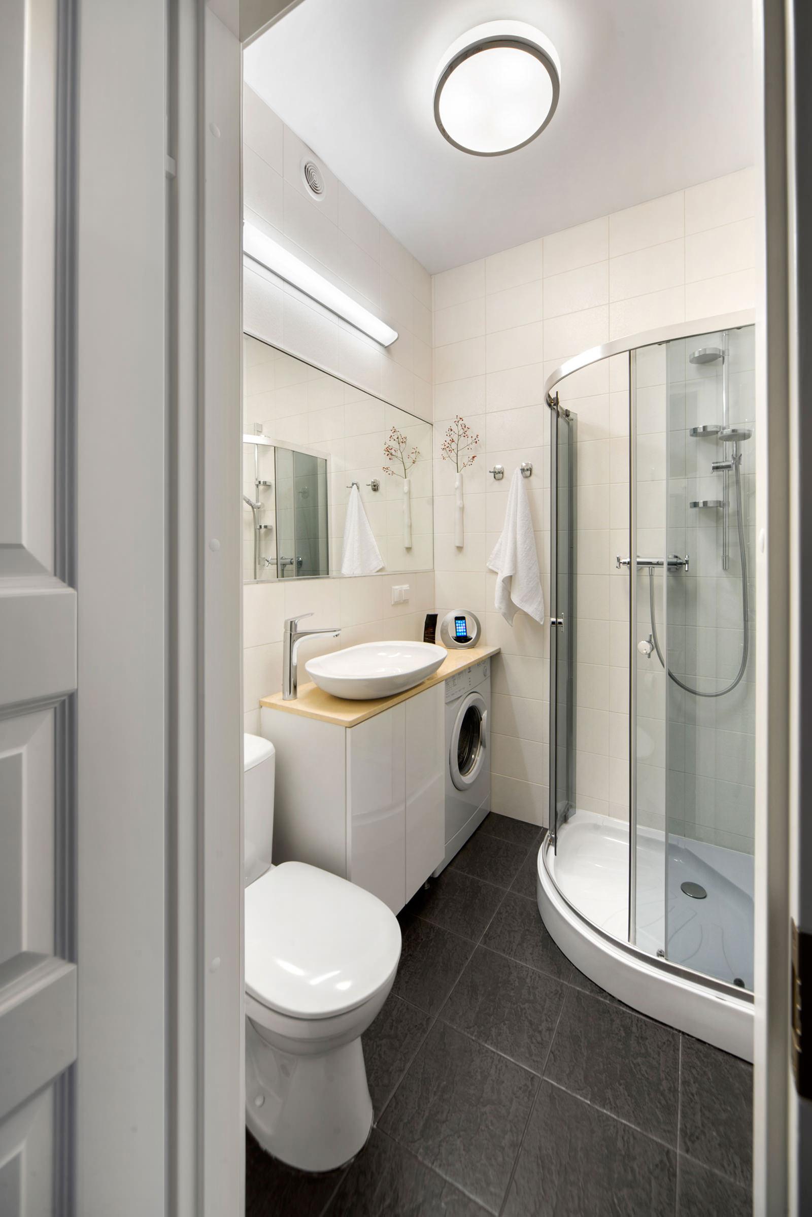 дизайн ванной 4 кв