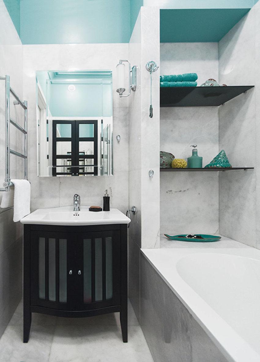 интерьер ванной 4 кв м