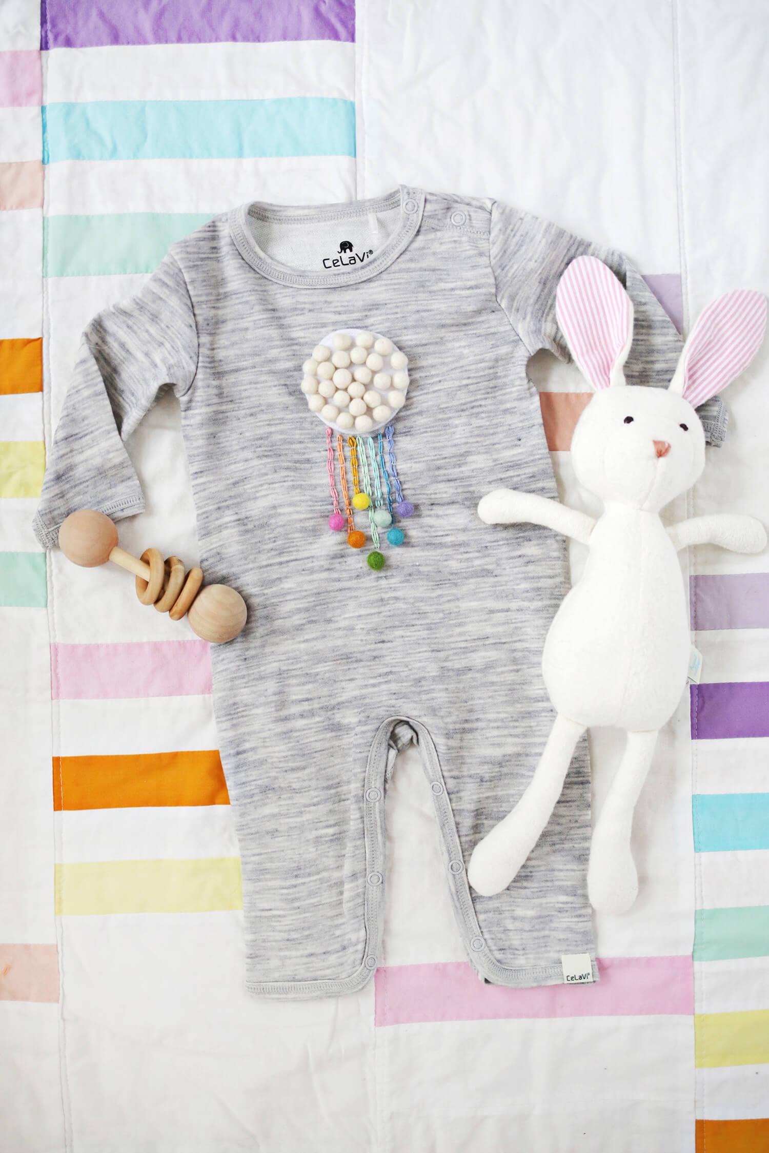 украсить детскую одежду своими руками
