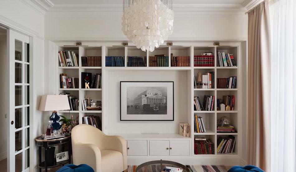 интерьер гостиной в квартире
