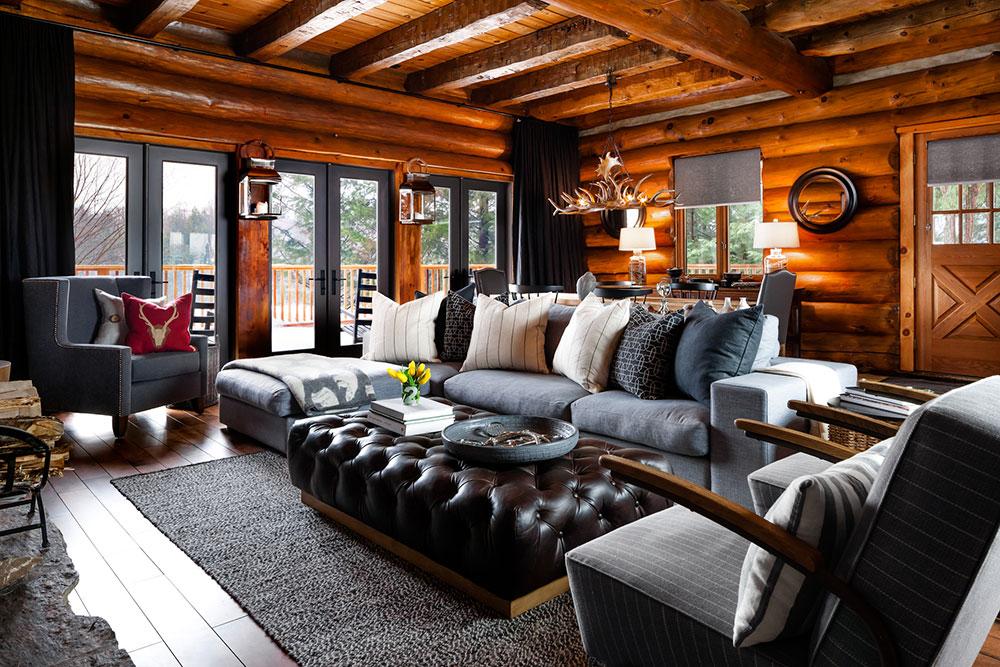 дизайн частного дома внутри