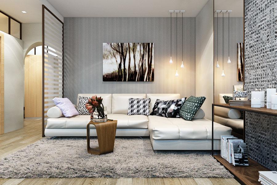 Дизайн 3-х комнатной квартиры-распашонки