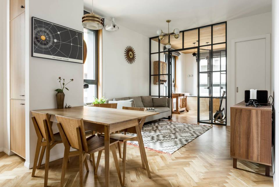 дизайн 3-х комнатной квартиры 60 кв.м
