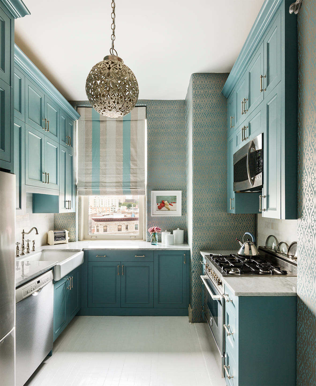 Шторы для ярких кухонь