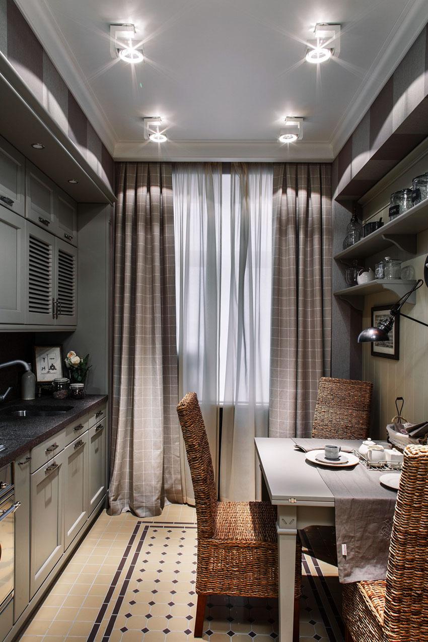 штора для кухни