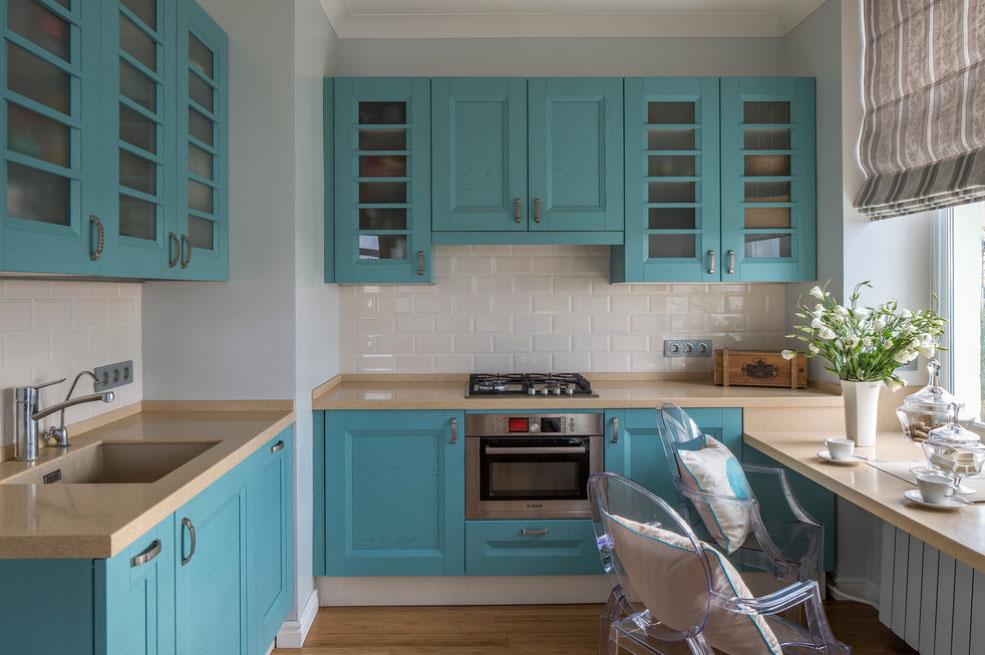 яркая кухня фото