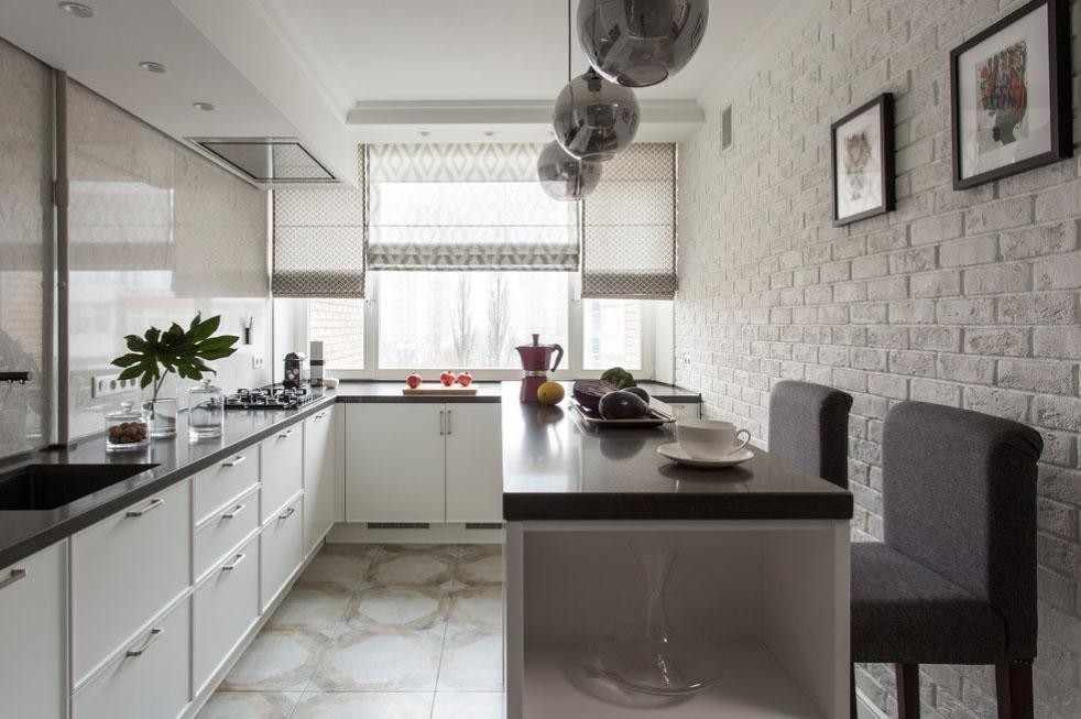 штори на кухню