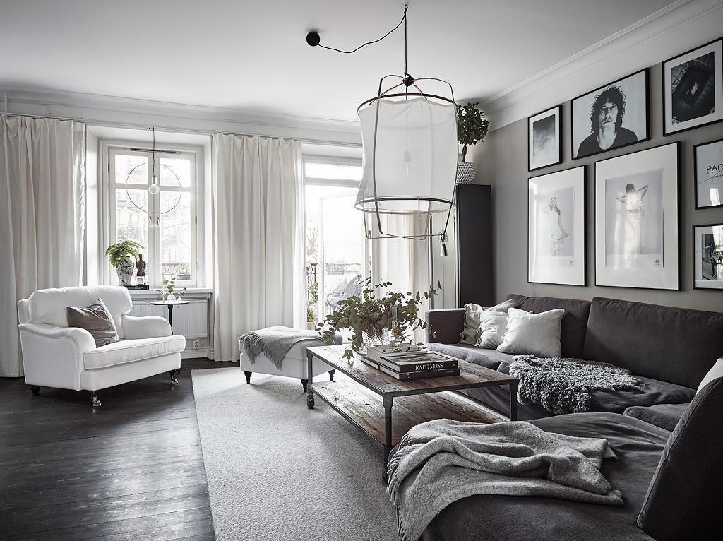 Фотоохота: скандинавский минимализм в 45 фото – дизайн трёшки