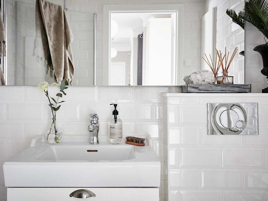 ванна в скандинавском стиле