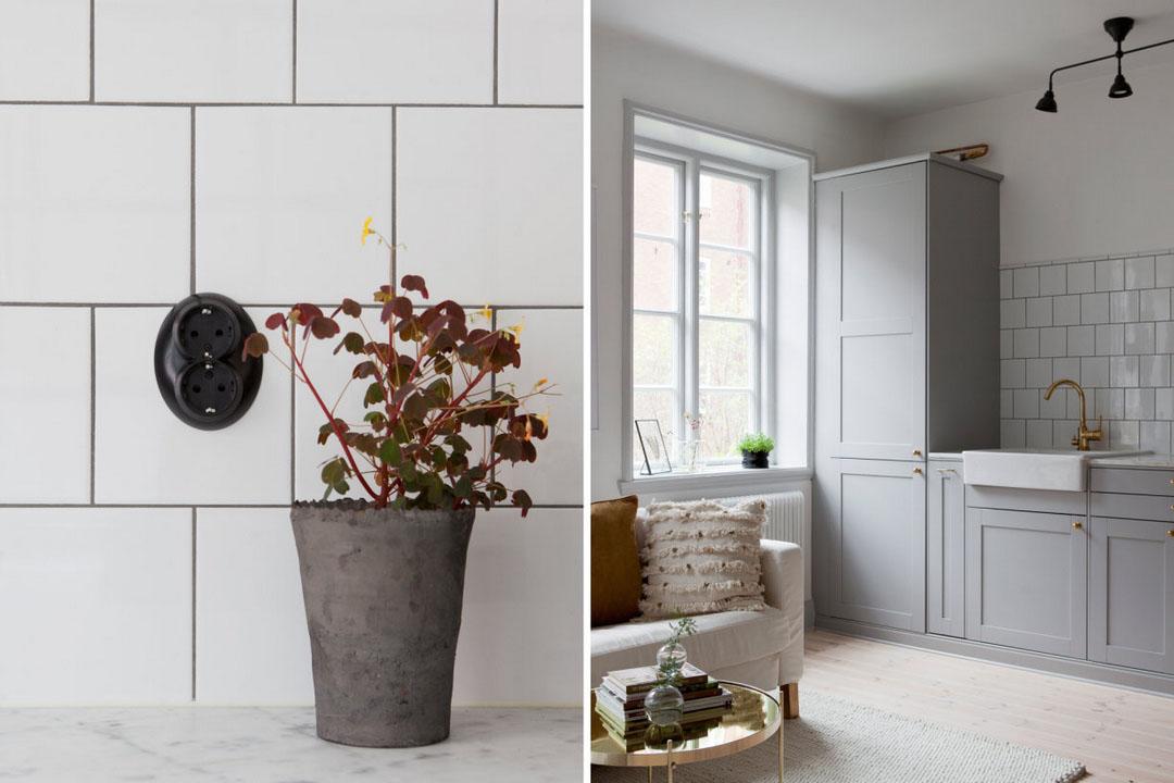 кухни в скандинавском стиле