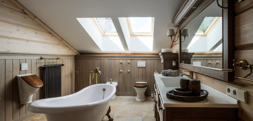 Ванная комната может быть и такой: 19 фото вдохновения