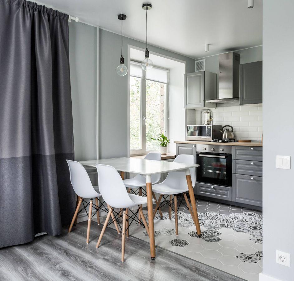 Дизайн однокомнатной квартиры 30 кв. м