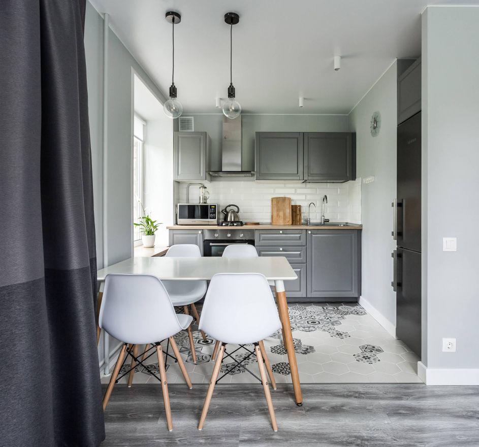дизайн однокомнатной квартиры 32 кв м