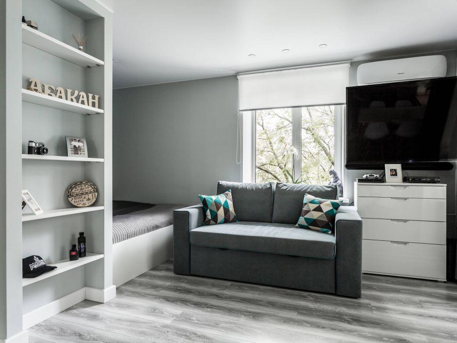 дизайн 1 комнатной квартиры 30 кв м
