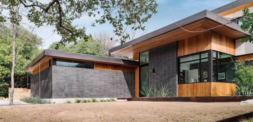 Стильный фасад + интерьер дома из Техаса