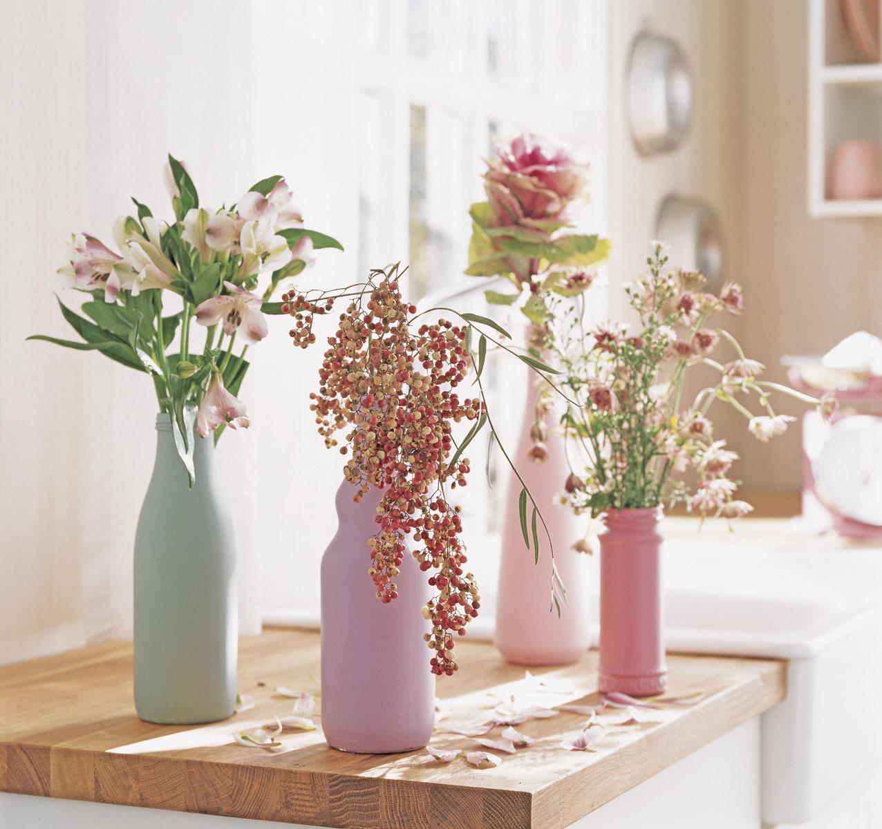 цветы в интерьере фото