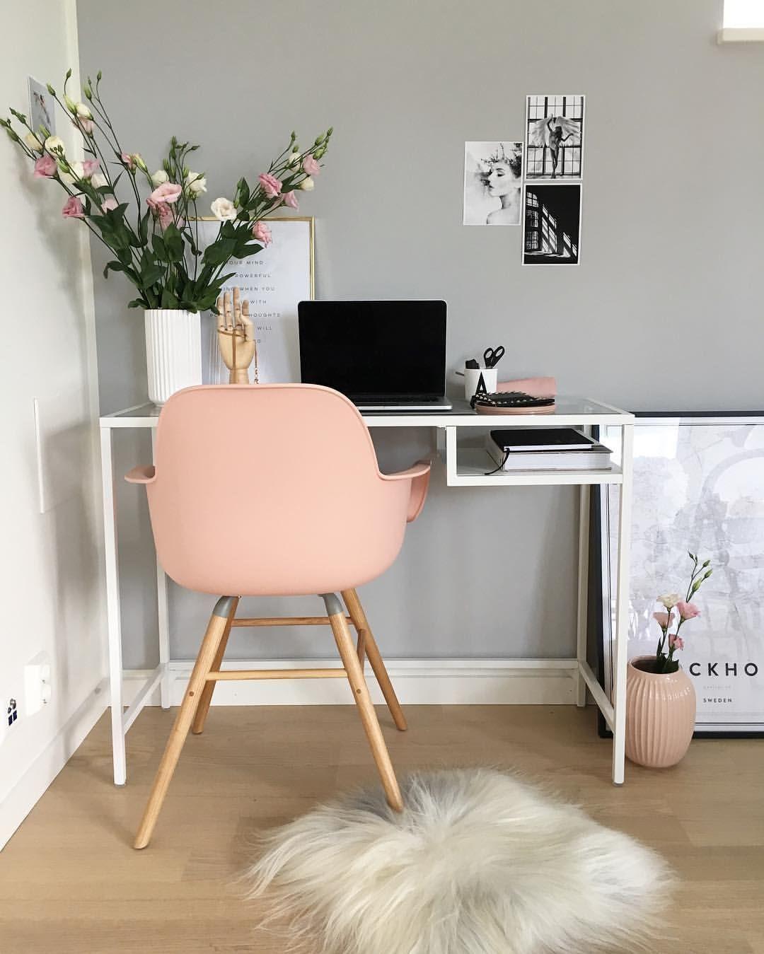 23 красивых офиса: скандинавский стиль + прованс