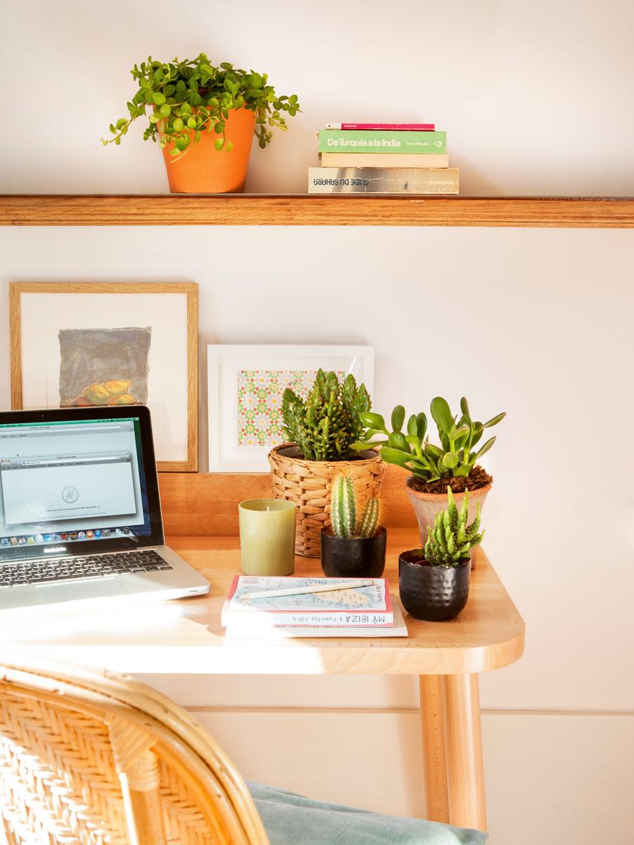 интерьер офиса в доме