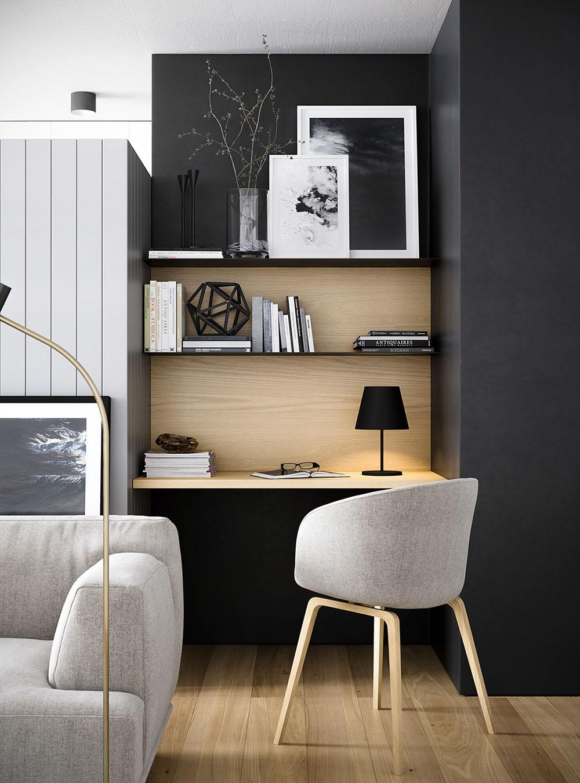 кабинет в квартире
